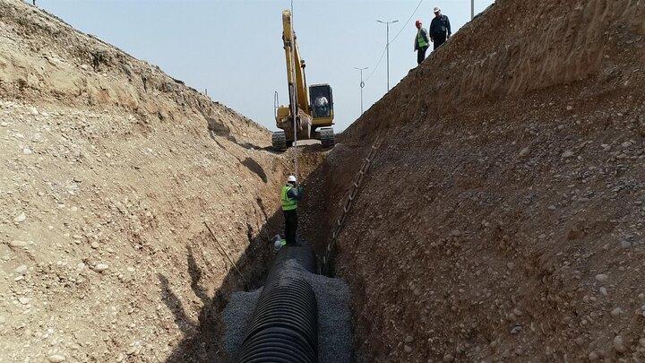 پیشرفت پروژه فاضلاب ۳ شهر استان بوشهر به ۸۰ درصد رسید