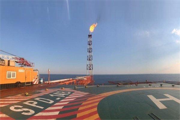 رکورد جدید برای ایران با نصب دو سکوی دریایی فازهای ۲۲تا ۲۴