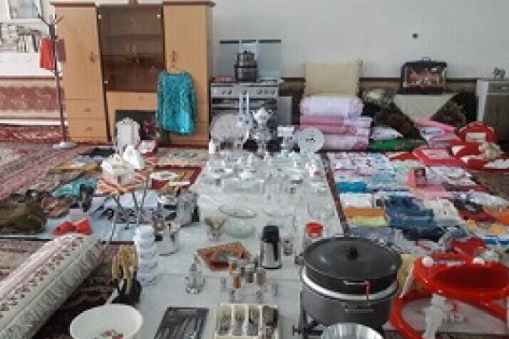 ۷۰ دست جهیزیه در بین نوعروسان نیازمند زنجانی توزیع میشود
