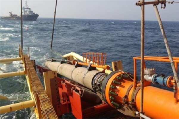 لولهگذاری دریایی طرحهای گازی پارس جنوبی پایان یافت