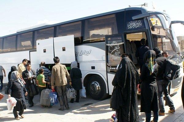 تعداد سفرهای ناوگان اتوبوسی در کشور ۴۰ درصد کاهش یافت
