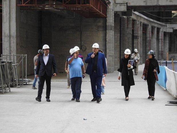 ساخت بزرگترین آکواریوم منطقه در پروژه میکا مال جزیره کیش