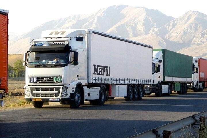 ۱۳۳ هزار تن کالای استاندارد از مرز مهران صادر شد