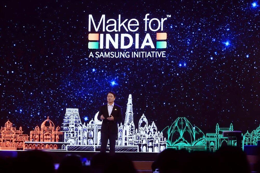 هند نمایشگرهای تلفن های هوشمند سامسونگ را می سازد