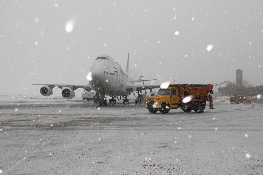 پرواز استانبول به تـبـریـز در فرودگاه امام خمینی(ره) تهران به زمین نشست