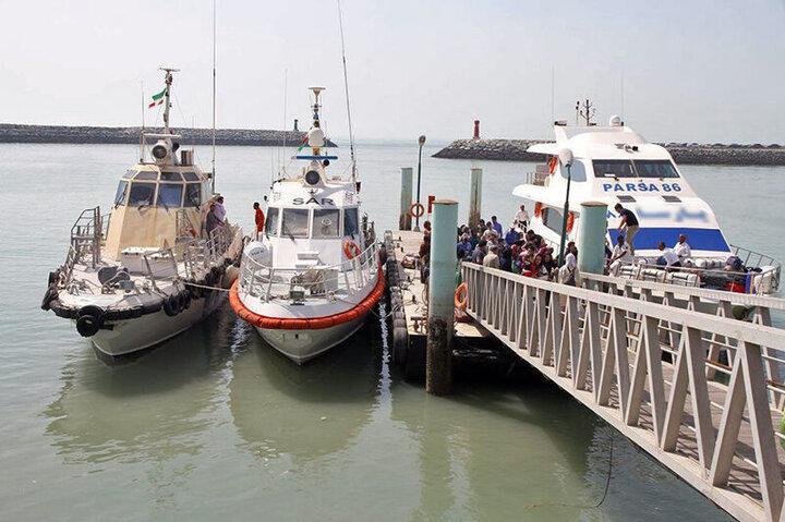 ۵ شناور جدید گردشگری و تفریحی در راه دریای مازندران
