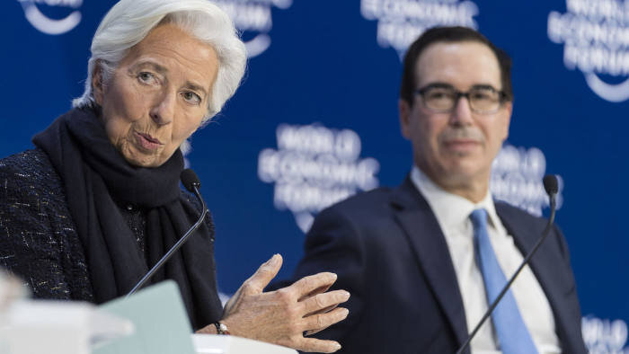مشاجره لفظی یک مقام امریکایی با رئیس صندوق بین المللی پول