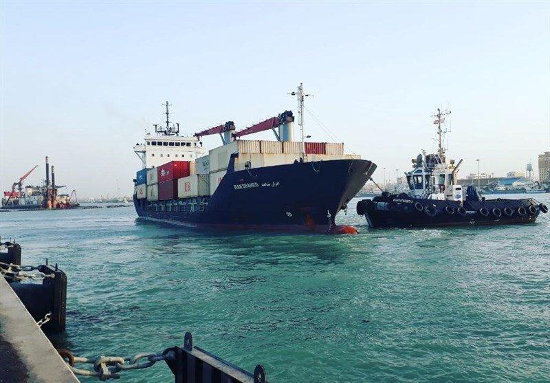 سومین کشتی حامل کالای اساسی در بوشهر تخلیه شد