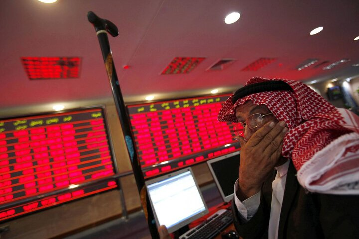 ریزشی شدن شاخص بیمه و بانک در کشورهای عربی/ ریزش سهمگین کلیه شاخصهای بورس عربستان سعودی