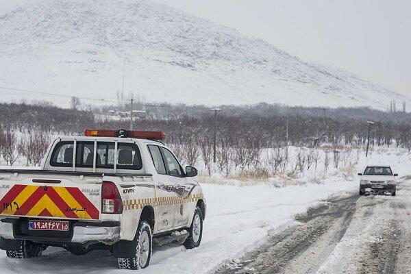 بازگشایی راه ۱۰۰ روستای شهرستان هوراند