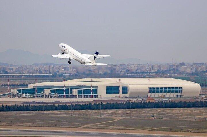 کاهش ۵۰ درصدی پروازهای فرودگاه ارومیه در طول اسفندماه