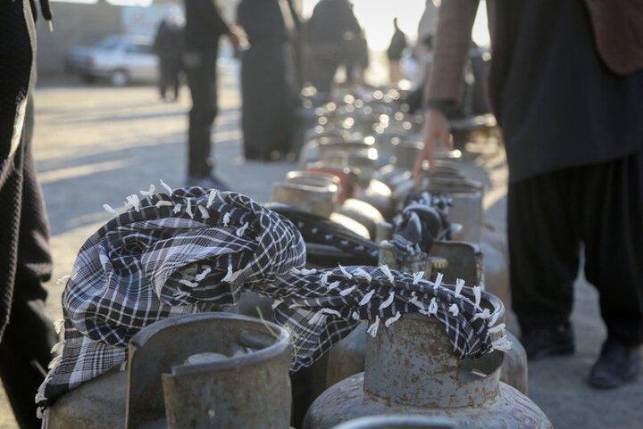 مشکل گاز مایع در قزوین رفع شد
