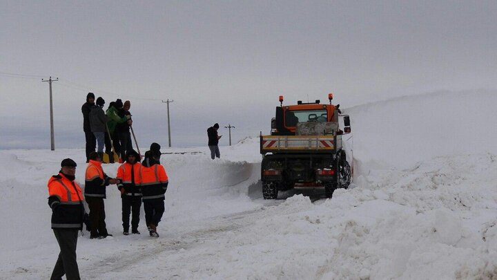 راه ارتباطی تمامی روستاهای آذربایجانشرقی بازگشایی شد