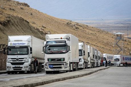 ۲ میلیون تن کالا از مرز مهران به عراق صادر شد