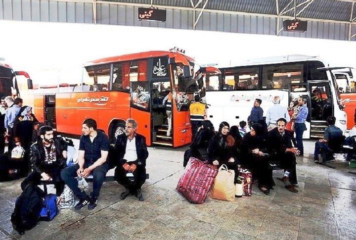 کاهش ۱۶ درصدی سفرها در زنجان/ ضد عفونی ترمینالهای مسافربری