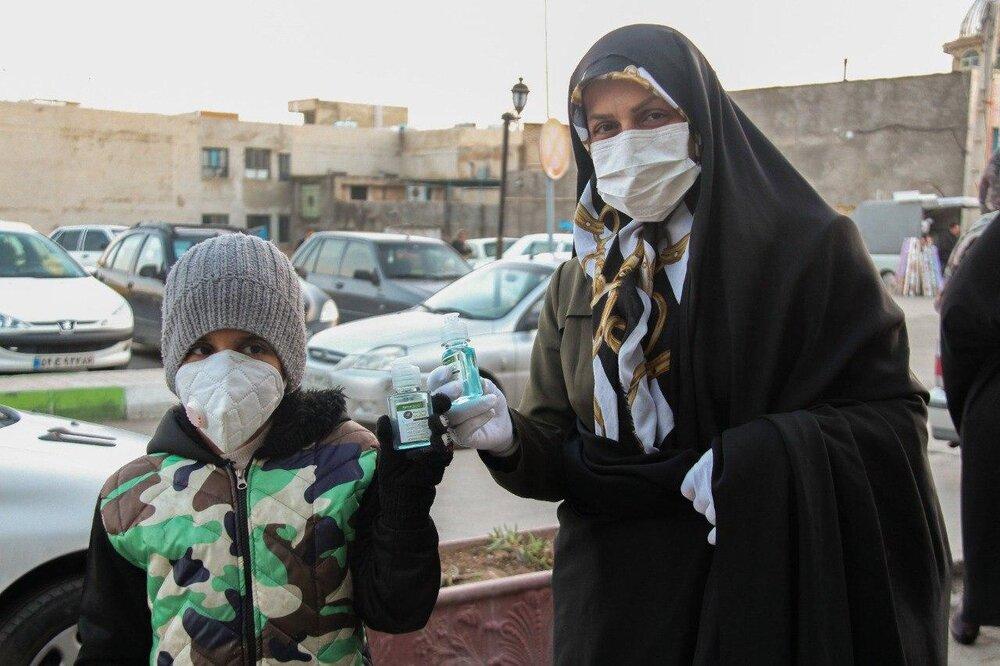 بستههای بهداشتی رایگان در مناطق محروم استان قزوین توزیع شد