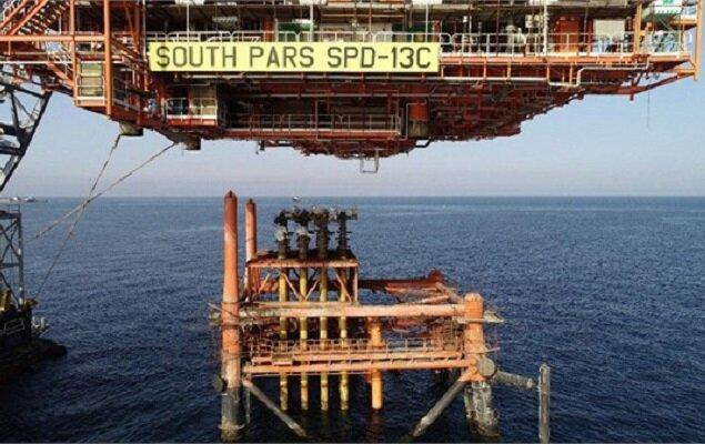 آخرین سکوی فاز ۱۳ پارس جنوبی در خلیج فارس نصب شد