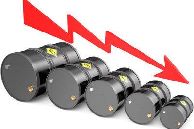 قیمت نفت خام ۲۵ درصد کاهش یافت