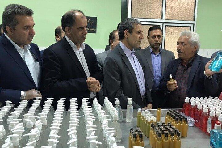 پرداخت سرمایه در گردش به واحدهای صنعتی، تولیدکننده مواد ضدعفونی در بوشهر