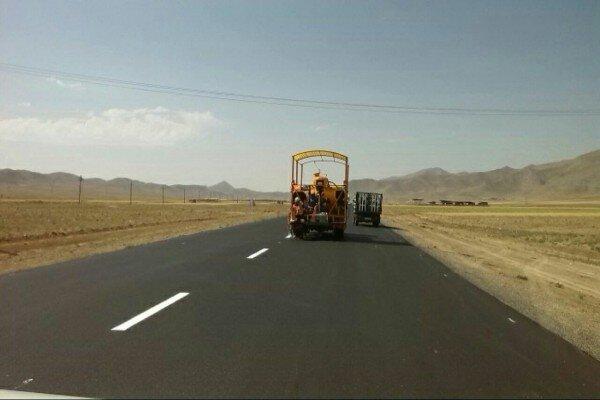 ۷۰۰ کیلومتر از راههای استان همدان خط کشی شد
