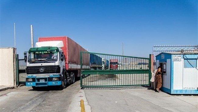 صادرات از پایانه مرزی میرجاوه ۱۶۰ درصد رشد داشته است
