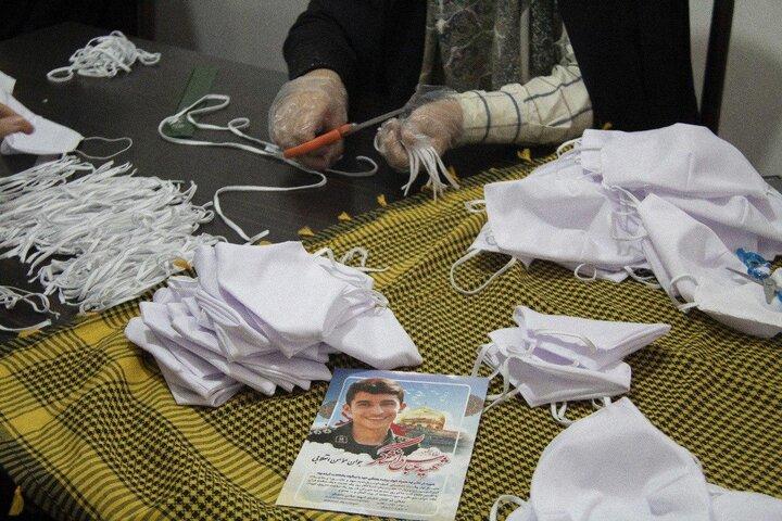 استفاده از ظرفیت گروههای جهادی در مبارزه با کرونا/ افزایش تولید ماسک در استان سمنان