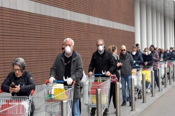 بحران کرونا اروپا را به زانو در میآورد؟