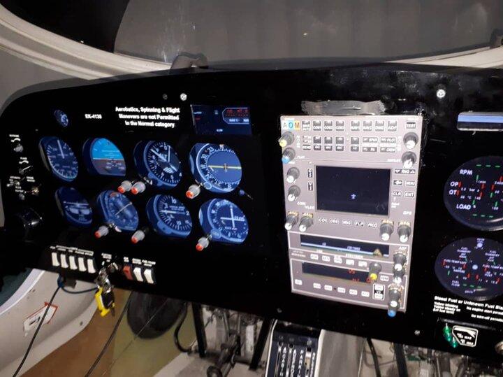 پنل سختافزاری شبیهساز پرواز در دانشگاه اراک طراحی و ساخته شد