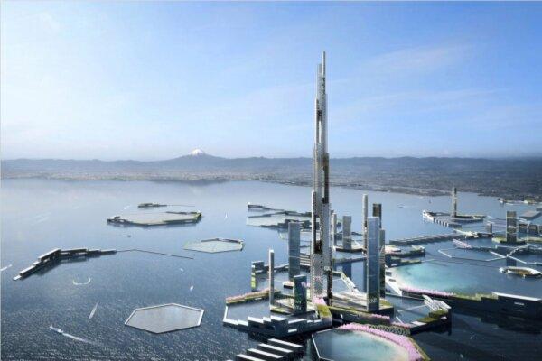 بلندترین آسمان خراش جهان ساخته میشود