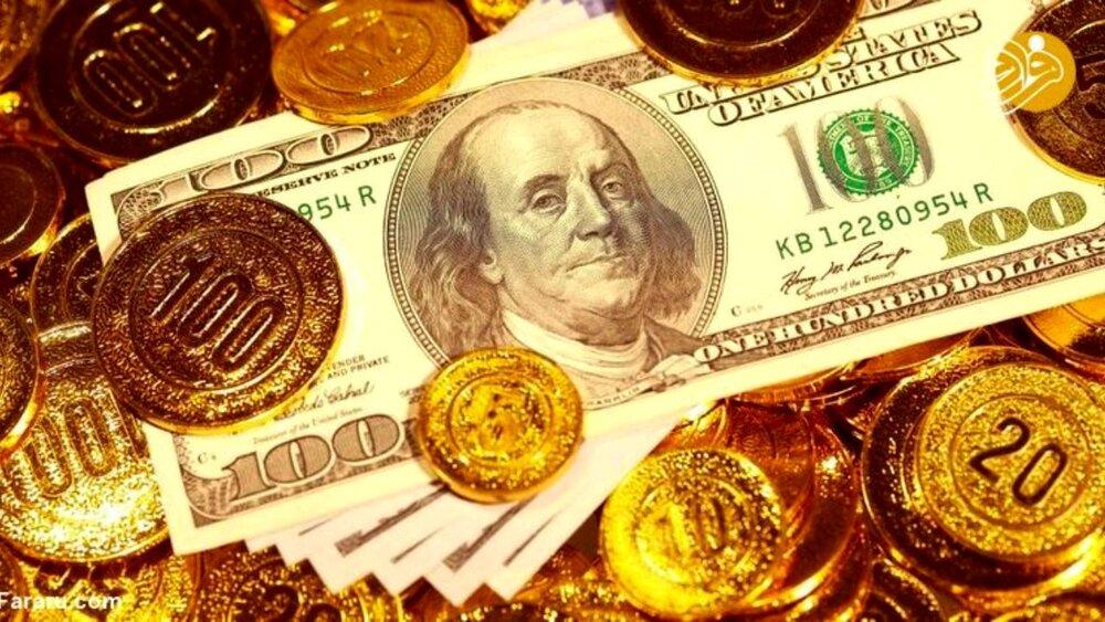 دلار ۲۱۷۵۰ تومان/ سکه در نیمه کانال ۱۰ میلیون تومان