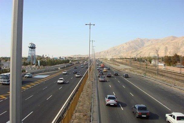 تردد در جاده های استان همدان ۱۵ درصد کاهش یافت