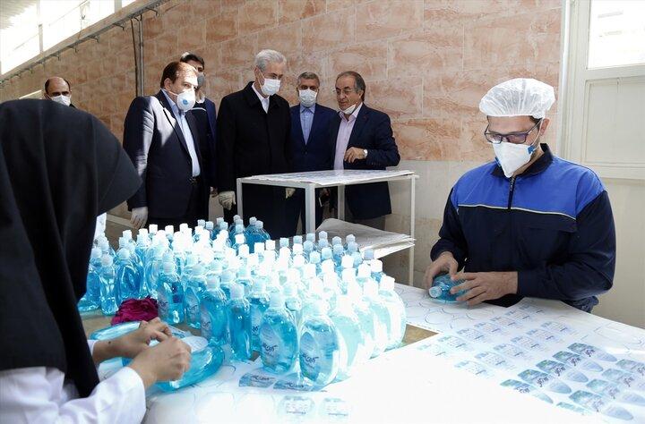افزایش ۳ برابری تولید مواد ضدعفونی در شهرک های صنعتی آذربایجانشرقی