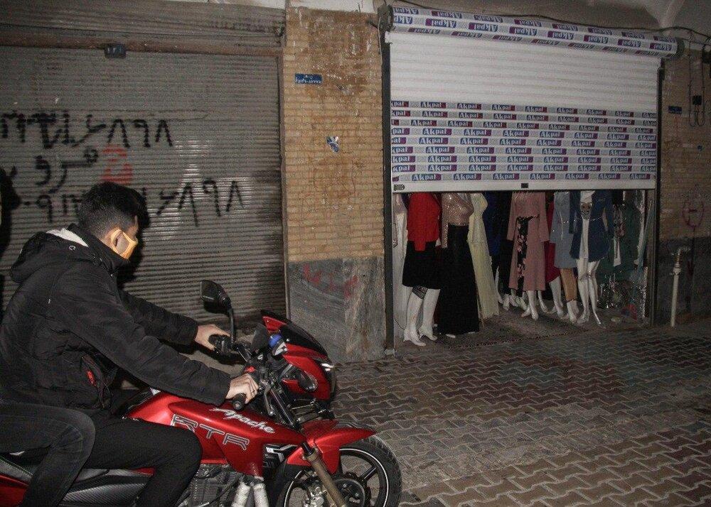 سندرم بازار بیقرار در روزهای شیوع مجدد کرونا در شیراز؛ تسهیلاتی که فقط شعار است