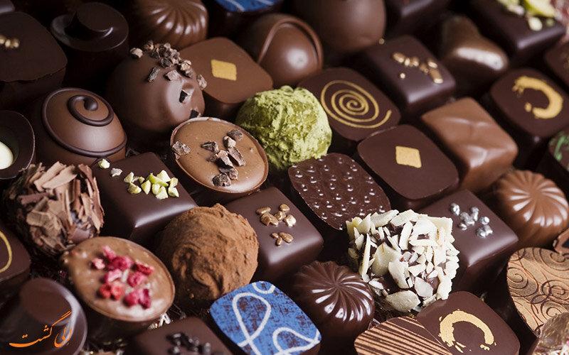 شیرینی و شکلات تبریز به ۸۰ کشور جهان صادر می شود