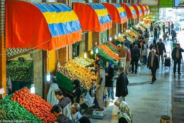 قیمت میوه و تره بار در شنبه ۱۹ مهر ۹۹
