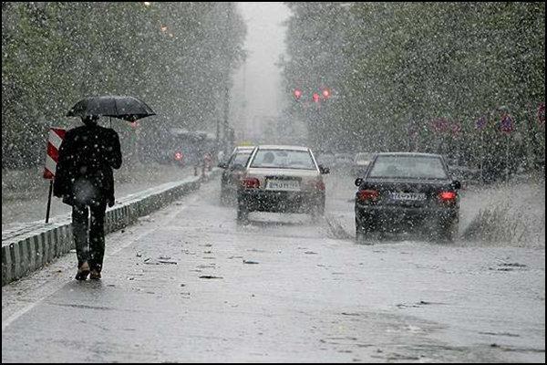 شب گذشته، ۲۵ میلیمتر باران در تهران آمد