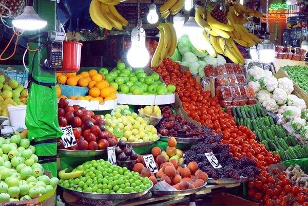 قیمت میوه و تره بار در چهارشنبه ۲۶ شهریور ۹۹