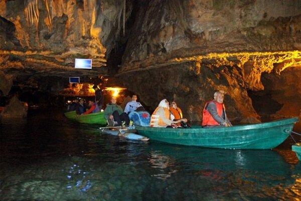 شمار بازدیدکنندگان غار علیصدر ۸۵ درصد کاهش یافت