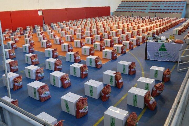 ستاد اجرایی در استان سمنان ۸ هزار بسته معیشتی توزیع کرد