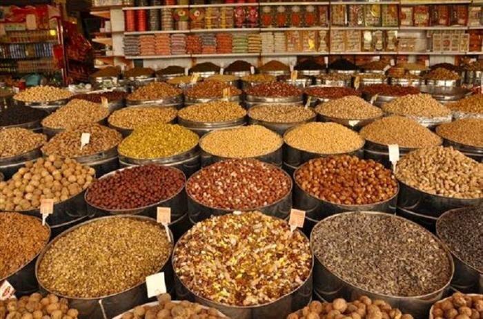 قیمت آجیل و خشکبار در ۱۷ فروردین ۱۴۰۰