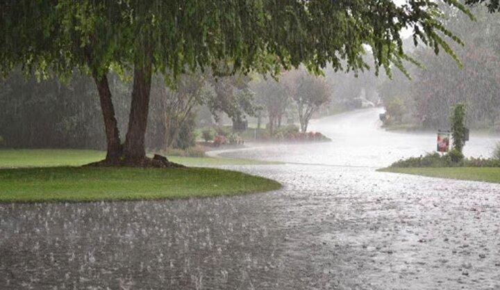 پیش بینی رگبار ۳ روزه باران در ۱۳ استان کشور