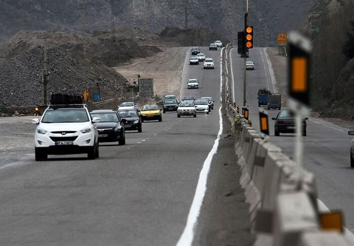 کاهش ۲.۱ درصدی تردد در جادههای کشور