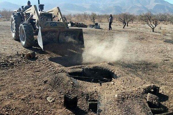 یک هزار و ۲۹۵ چاه غیرمجاز در کبودرآهنگ مسدود شد