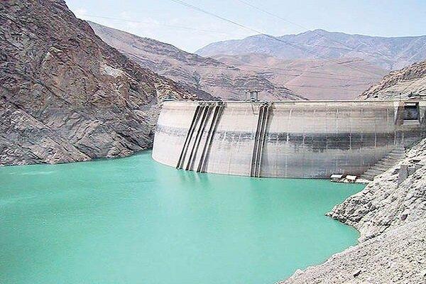 ۴۰ درصد حجم ذخیره آب سد اکباتان همدان پر است