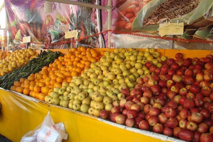 قیمت میوه و تره بار در سه شنبه ۱۶ دی ۹۹