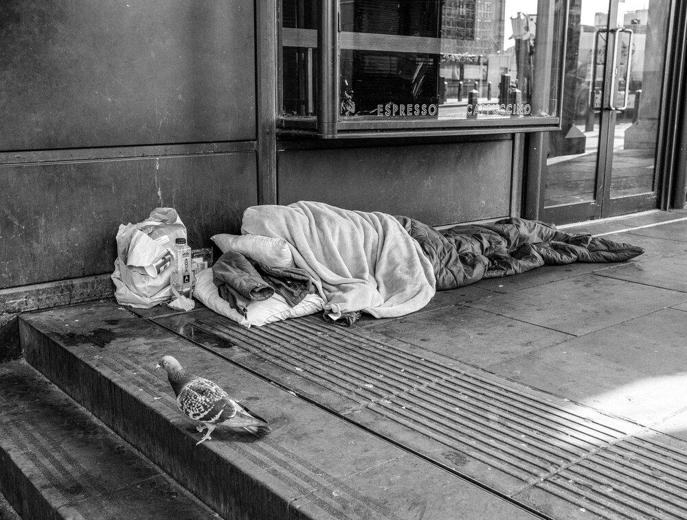 هشدار در مورد افزایش خیابان خوابی در لندن