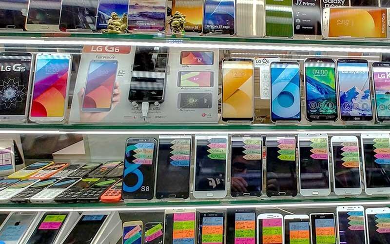 قیمت روز انواع تلفن همراه در ۶ شهریور ۱۴۰۰