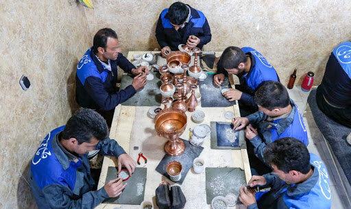 اشتغال ۴۰ درصد زندانیان یزد در شغلهای کارگاهی
