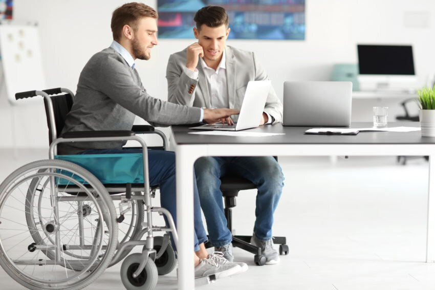 گشودن درهای تازه برای اشتغال افراد معلول