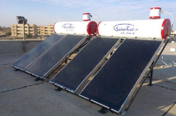 ۳۳۰ آبگرمکن خورشیدی درروستاهای زنجان نصب شده است